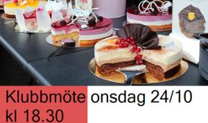 Klubbmöte onsdag 24 oktober! @ Lidköpings Brukshundklubb