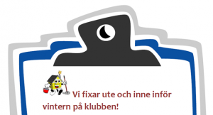 Städdag lördag 20 oktober! @ Lidköpings Brukshundklubb