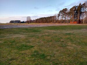 Fix med nya delen av planen @ Lidköpings Brukshundklubb