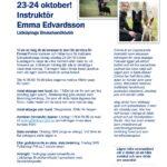 FULLSATT MED HUND! Lydnadshelg 23-24 oktober med Emma Edvardsson